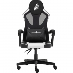 Игровое компьютерное кресло 1stPlayer P01, Black/White