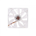 Кулер для кейса Thermaltake Pure 12 LED DC Fan Red, Прозрачный
