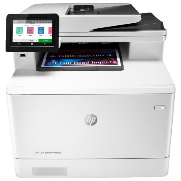 МФП HP Europe/Color LaserJet Pro MFP M479dw/Принтер-Сканер(АПД-50с.)-Копир/A4/27 ppm/600x600 dpi