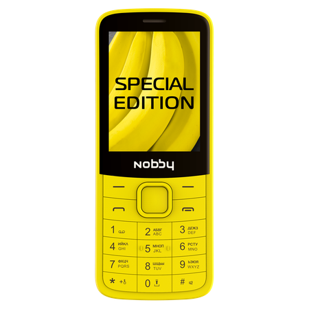 Мобильный телефон Nobby 220 банан