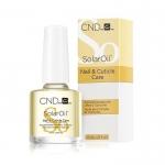 """""""SOLAR OIL"""" - Масло питательное для кутикулы и ногтей с глубоким проникающим действием, 7,3мл."""